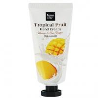 Крем для интенсивного питания сухой кожи рук  с манго , жожоба Tropical Fruit Hand Cream - Mango & Shea Butter FarmStay