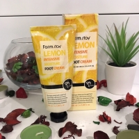 Крем для ног смягчающий с экстрактом лимона Lemon Intensive Moisture Foot Cream FarmStay