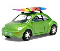 Машина металлическая VW New Beetle инерционная Kinsmart