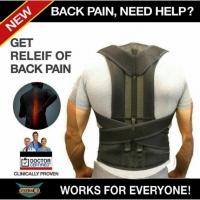 Фиксирующий корсет для спины Get Relief of Back Pain корректор р-р XXL