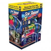 Лазерный Звездный проектор Star Shower Motion Звездный Дождь