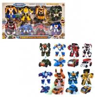 Тобот 5 Набор 8в1 Robot Car Transformers