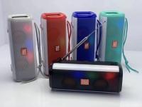 Беспроводная bluetooth колонка TG-144 Stereo BT Speaker 5Wx2 1200mAh Антенна + подсветка