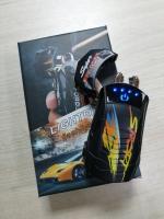 Зажигалка Lighter Flashlight Машина Импульс крест-на-крест