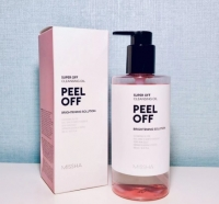 Гидрофильное масло с эффектом пилинга 305мл  Super Off Cleansing Oil Peel Off Missha