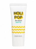 Матирующий ВВ крем с экстрактом центеллы азиатской 30ml HoliPop BB Cream Matte Holika Holika