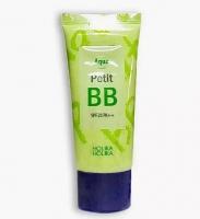 Увлажняющий ВВ крем с экстрактом зеленого чая 30ml Aqua Petit BB Holika Holika