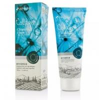 Эффективная коллагеновая пенка для умывания лица 100ml Collagen Cleansing Foam 3W Clinic
