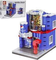 Конструктор Sembo Block 6026-29 111-151дет Магазины