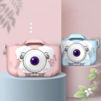 Детский цифровой фотоаппарат Веселый щенок с Селфи камерой Digital Camera