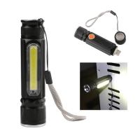 Мини фонарь Xpe + Cob Lighr Usb Charge Waterproof