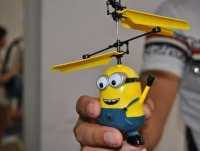 Летающий Миньон мальчик с пультом