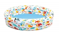 Надувной бассейн Рыбки 132х28см