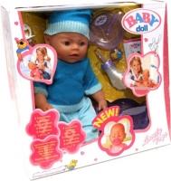 Пупс - кукла Baby Doll  (Беби Борн) № 8001-A/F