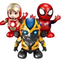 Танцующие герои Мстители на батарейках