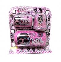Кукла  LOL (Лол) - Набор Under Wraps 3в1 Капсулы и Шар Fashion