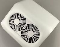 Пылесос для маникюра 48W, 2 вентилятора, 31х29х13см Double Strong Fans
