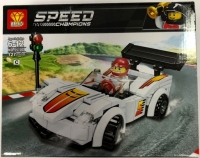 Конструктор Speed Champion 120 - 130 дет. Машина