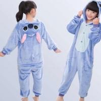Пижама Кигуруми Стич Синий размер 105-120см