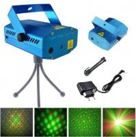 Лазерный проектор Mini Laser Stage Lighting с треногой