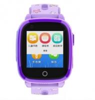 Smart watch baby DF33 WiFi Водонепроницаемые IP67 Видеозвонок Фиолетовые