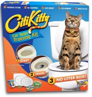 Кошачий Туалет Citi Kitty Cat Toilet Training Kit