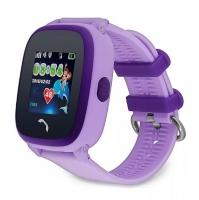 Smart baby watch Wonlex GW400S Фиолетовые детские сенсорные часы