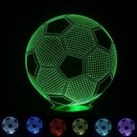 Ночник Acryl Football Футбольный мячик