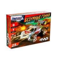 Электронный конструктор Безумные гонки, 4WD, световые эффекты