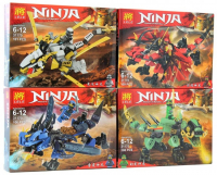 Конструктор 31170 Ninja 100 дет. Четыре Дракона