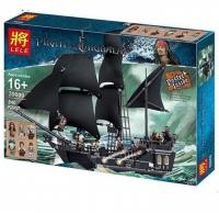 Конструктор 39009/19001 Пираты 840+ дет. Черная жемчужина