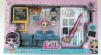 Кукла LOL (Лол) - Серия Шпионы Набор Школа Рисуй Светом