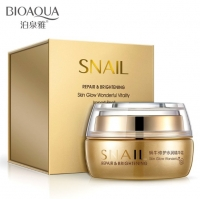 BioAqua Snail Repair & Brightening Увлажняющий крем для лица с муцином улитки, 50 г