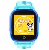Smart watch baby DF33 WiFi Водонепроницаемые IP67 Видеозвонок Голубые