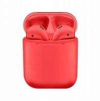 Беспроводные наушники TWS i12 (Red)