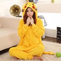 Пижама Кигуруми Пикачу желтый размер М (160-170см)