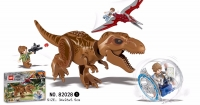 Конструктор 82028 Dinosaur World Парк Динозавров Трицератопс
