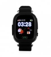 Smart baby watch Wonlex GW100 Черные детские сенсорные часы