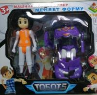 Тобот 5 Машина Трансформер + Герой