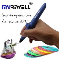 3Д Ручка,RP200A HOT, цвет Синий для палстика PLA