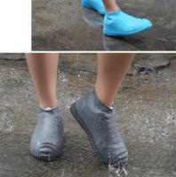 Многоразовые силиконовые бахилы на обувь Waterproof Silicone Shoe Cover р-р L