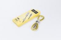 USB кабель HOCO (Original) 2.4a U9 Zinc Alloy Lightning 1.2м