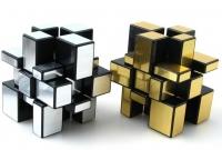Кубик Рубика 3D Зеркальный (Золото, Серебро)