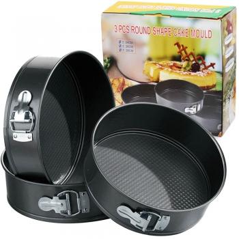 Набор для выпечки 3 формы 18/20/22см диаметр Shape Cake Mouldes