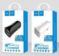Автомобильное зарядное устройство Hoco Z12 Elite Dual USB