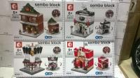 Конструктор Sembo Block SD6520-25 140-160дет