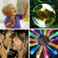 Волшебные нелопающиеся мыльные пузыри Bubble (немыльные пузыри)