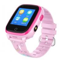 Smart watch baby DF33 WiFi Водонепроницаемые IP67 Видеозвонок Розовые