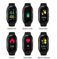 Смарт Фитнес часы M1 + Bluetooth наушники 2в1