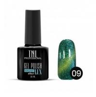 Гель-лак TNL - magnet lux №09 - изумрудный с блестками (10 мл.)